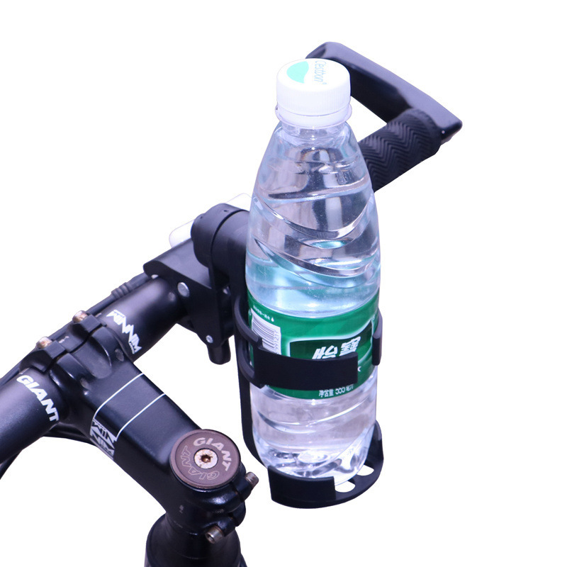 Stroller Bicycle Quick Release Water Bottle Holder Bottle Drying Rack 360-Degree Rotating Free Form Hanging Cup Holder