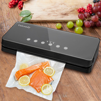 White Dolphin Home Food Vacuum Sealer Machine 220V 110V Electric Vacuum Packaging Machine Food Sealer With 10PCS Storage Bags