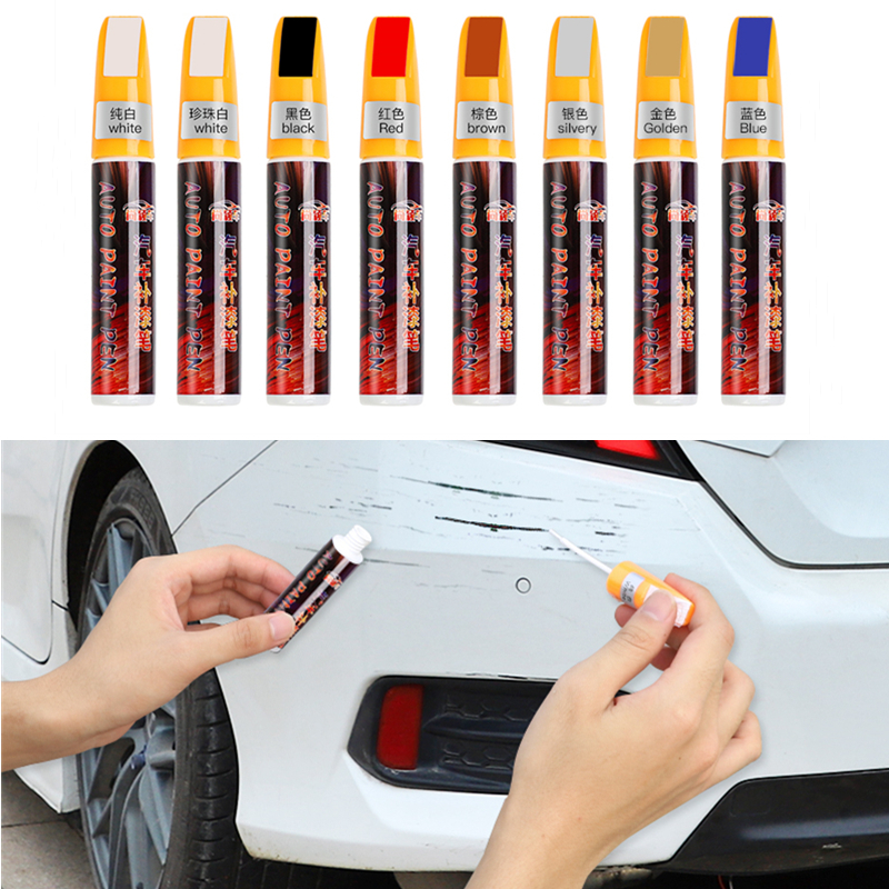Car Scratch Repair Paint Pen Waterproof Touch Up Tool Auto Dedicated Scratch Care For Toyota Chevrolet Skoda Fiat Ford Nissan