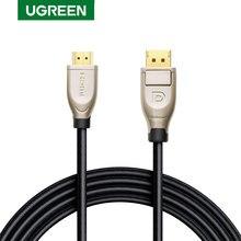 Ugreen Cable DisplayPort 144Hz, 1,2 4K 60Hz para HDTV, tarjeta gráfica, proyector, DisplayPort a DisplayPort