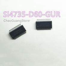5 ~ 20uds/Lote SI4735-D60-GUR SI4735-D60-GU 4735D60GU SSOP24 100% оригинал nuevo entrega бесплатно
