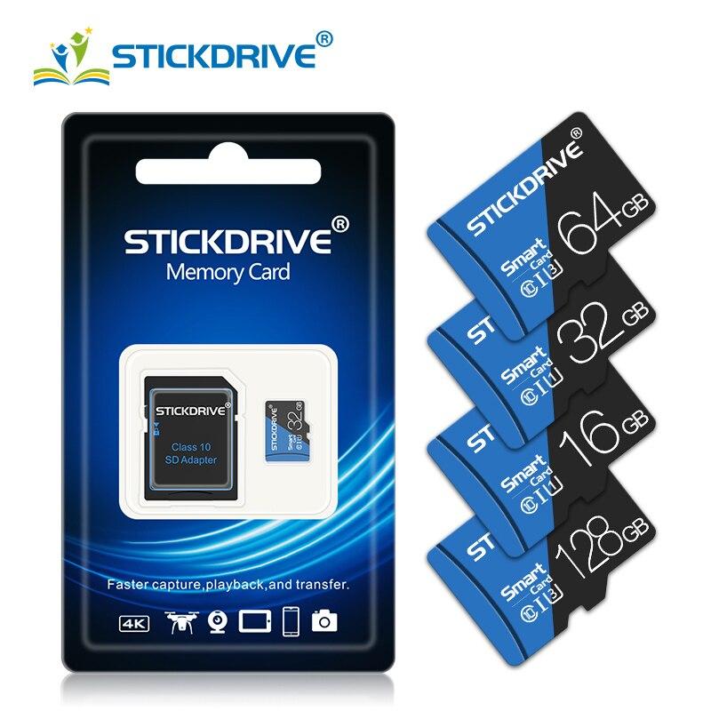 Cartão de memória 128 gb 64 gb 32 gb 16 gb 8 gb sd tf cartão flash class10 8 16 32 64 128 gb cartao de memoria com adaptador