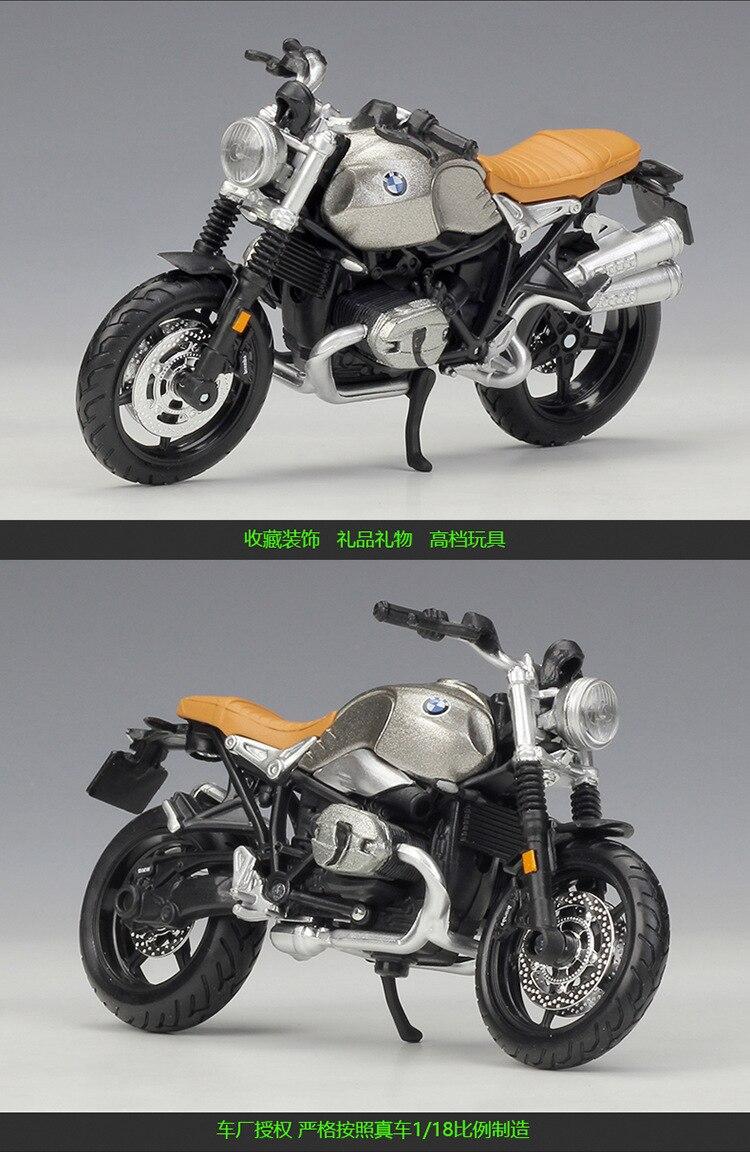 BMW R Nine T Model Motorcycle 4