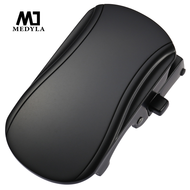 MEDYLA 36mm Mens Belt Buckle Hard Metal Button Fashion Belt Buckle For Men Suitable For Belts Below 3.5cm Mens Accessories