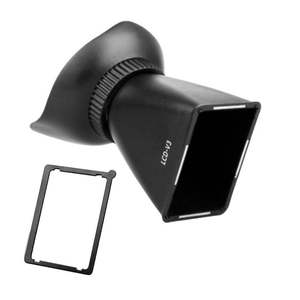 Expansion-Cover Magnifier Viewfinder Lcd-Screen Camera 3:2 Sunshade V3