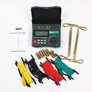 Image 5 - DUOYI testeur numérique de terre, DY4300, testeur numérique de résistance au sol, mégère, mégohmmètre, composante de résistance du sol, 0 ~ 20.99 kΩ