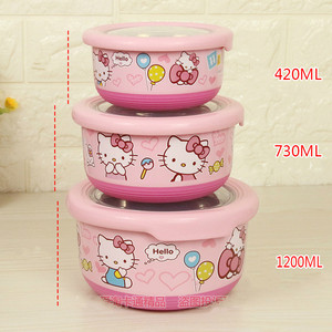 ONEUP 304 Stainless Steel Lunch Box For Kid New one-layers Bento Box For Student Food Container With Tableware Lunch Bag Kitchen