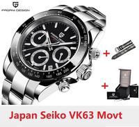 PAGANI DESIGN 1644 Men's Watches Quartz Business watch Auto Date Mens Watches Japan Movt Watch Men Chronograph Relogio Masculino