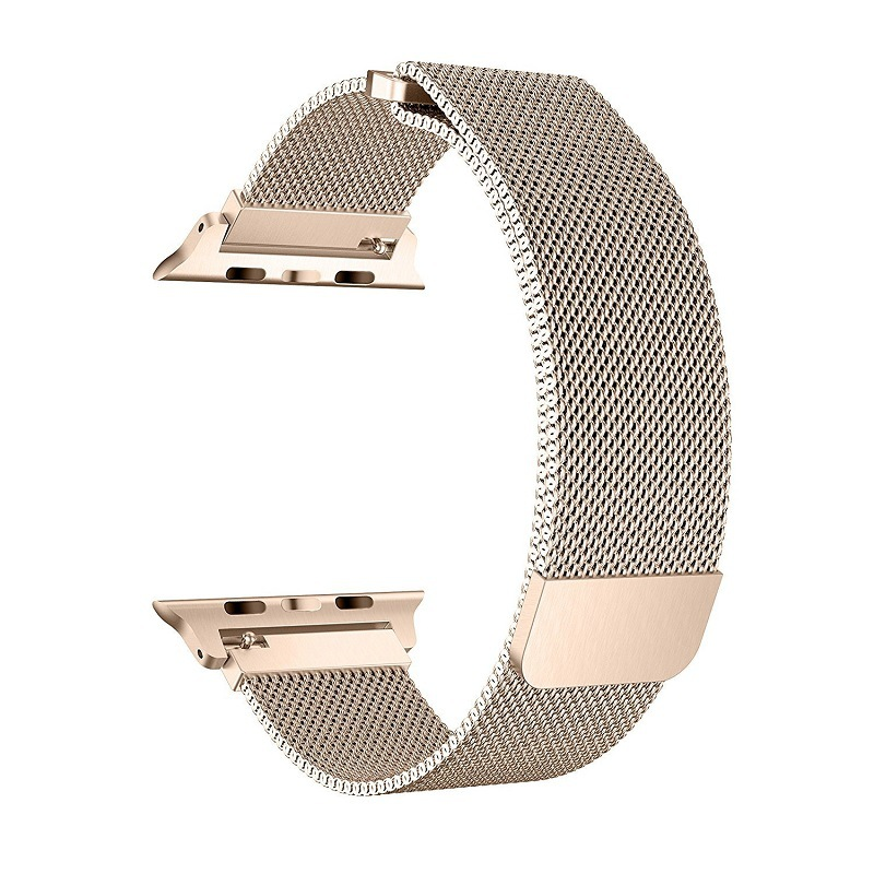 Suitable For Apple Watch Band I Watch4/3 S Men And Women-Style Stainless Steel Weaving Watch Strap 42 Mm 38mm