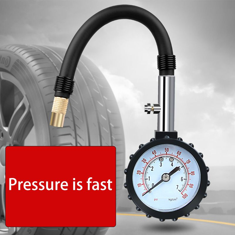 Hot Portable Auto Car Bike Motor Tyre Air Pressure Gauge Meter Tire Pressure Gauge Meter Vehicle Tester Monitoring System