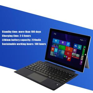 Image 5 - Bluetooth מקלדת עבור Surface של מיקרוסופט Pro 6/5/4/3 Tablet 12 אינץ אלחוטי Tablet PC מקלדת לוח מקשים עבור משטח פרו 6/5/4/3