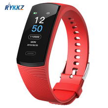 цена на K1 Smart Bracelet Waterproof Heart Rate Monitor Men Women Smart Band Alarm Clock Sports Watch SmartWatch For Android IOS Phone