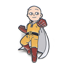 ONE PUNCH MAN Zinc Alloy pins para backpack pride clothesmedal for shirt hat insignia badges brooches men women medals E0196