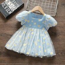 Sommer Prinzessin Baby Mädchen Kleid Party Geburtstag tutu Kleid Hochzeit Kleider für Neugeborene Kleidung Vestido Infantil Baby Kleidung