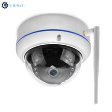 Mini indoor 5MP IR WiFi dome camera 15m ir distance camhi TF card slot 3.6mm lens audio surveillance WIFI dome CCTV camera