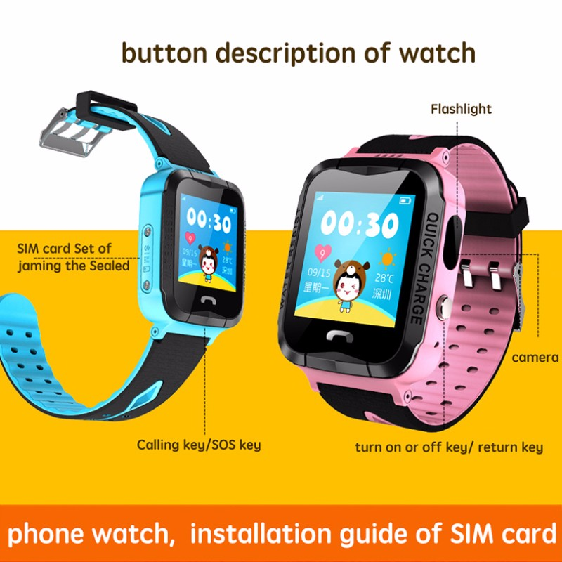 Hdefad36d68f64f12ac71670a0ff5ca5ai - GPS kids Smart Watch Phone Position Children Watch 1.22 inch Color Touch Screen WIFI SOS Tracker Smart Baby Watch IOS & Android