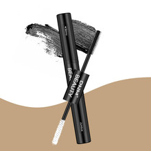 Silk 4D double mascara combination grafting growth extension waterproof fiber long thick curling not blooming