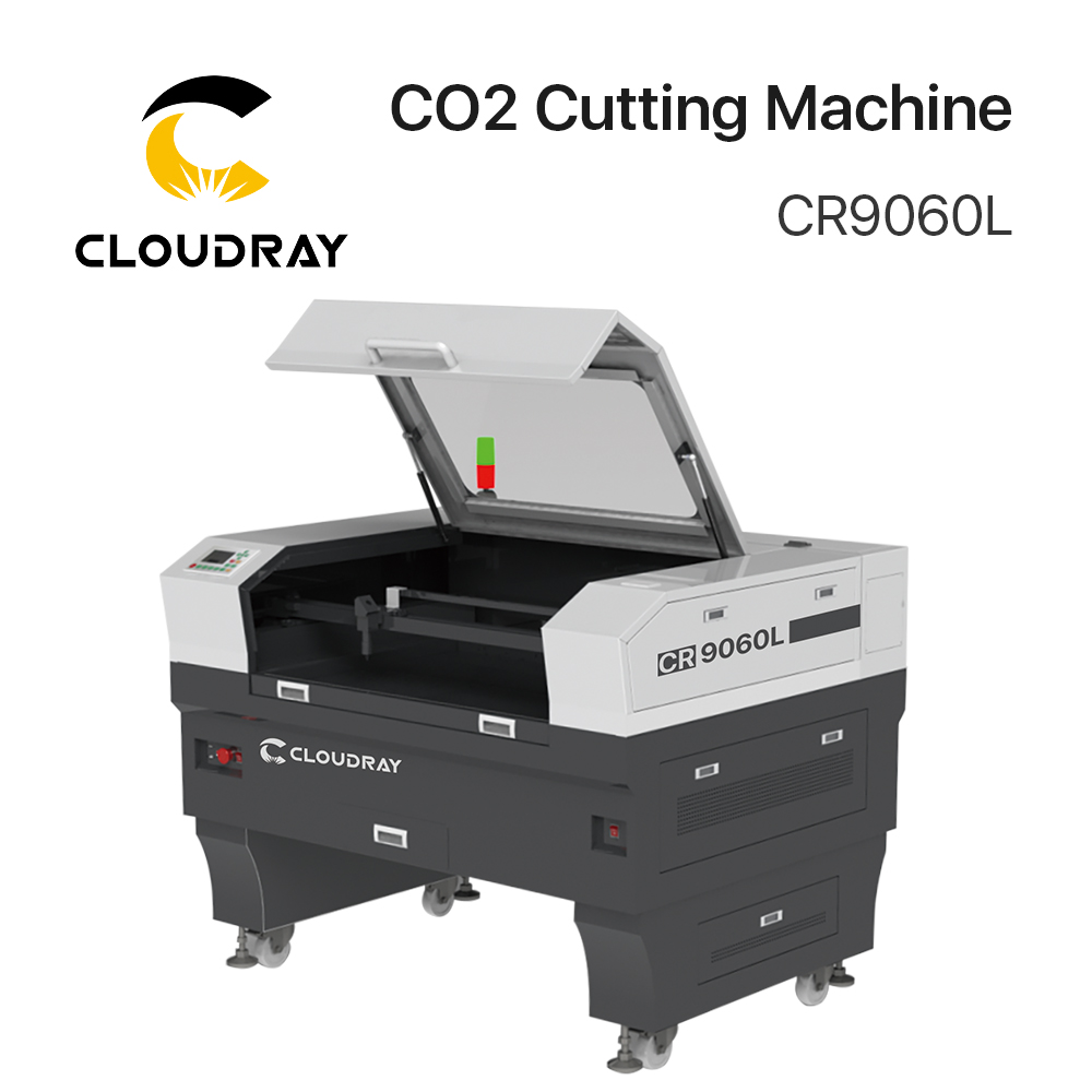 Cloudray 90-100W/130W-150W CO2 Cutting Machine CR9060L/ CR1390L/ CR1610L With S&A Chiller 3000AG/ 5000AG/ 5200AH