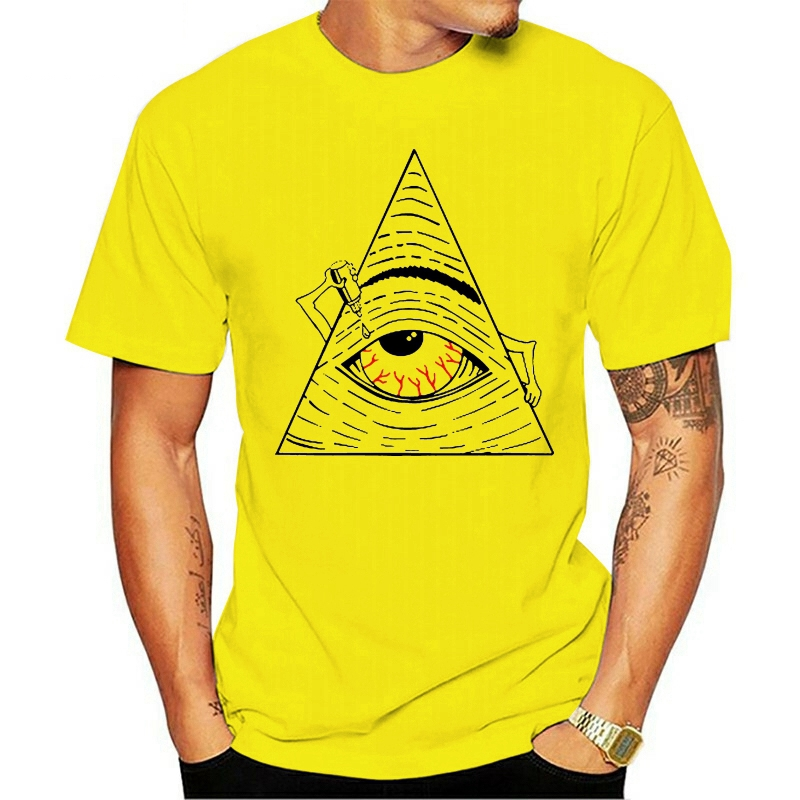 Camiseta cansada Spoof Illuminati, camiseta nueva 2020