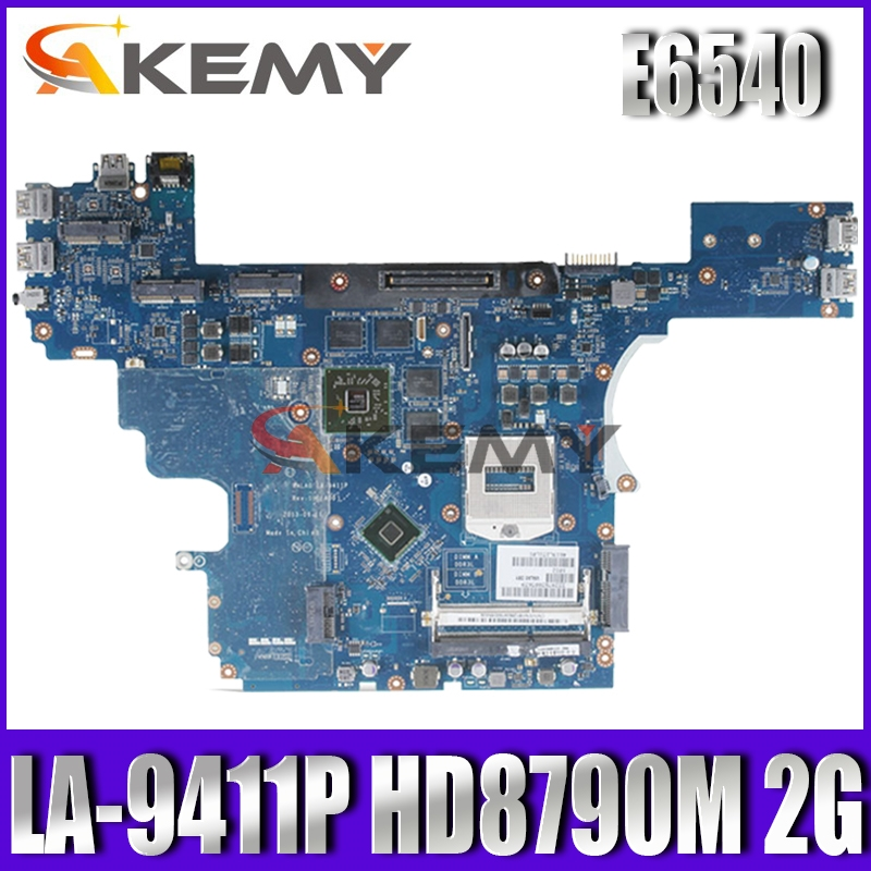 LA-9411P mainboard CN-0VWNW8 FOR Dell Latitude E6540 Laptop Motherboard VALA0 LA-9411P VWNW8 HM87 PGA947 DDR3 100% Fully Tested image
