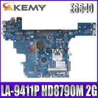 LA-9411P mainboard CN-0VWNW8 For DELL Latitude E6540 Laptop Motherboard VALA0 LA-9411P VWNW8 HM87 PGA947 DDR3 100% Fully Tested
