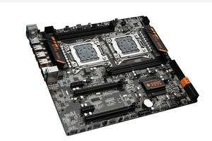 Image 2 - 마더 보드 콤보 HUANANZHI 듀얼 CPU X79 데스크탑 마더 보드 듀얼 CPU 인텔 제온 E5 2670 C2 2.6GHz 쿨러 32G RAM REG ECC