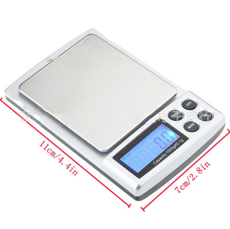 Digital Scale High Accuracy 0 01 0 1g Electric Pocket Gram for Lightweight Herb Tobacco Cigarette Grinder Pipe Hookah in Tobacco Pipes Accessories from Home Garden