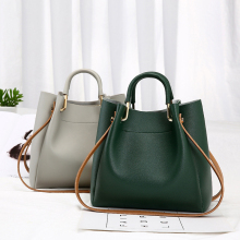 Vintage PU Leather Ladies HandBags Women Messenger Bags Tote