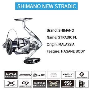 Image 2 - SHIMANO STRADIC FL pesca bobina di filatura 1000HG/2500HG/C3000HG/C3000XG/4000XG/C5000XG 6 + 1BB HAGANE X PROTECT Acqua Salata Bobina di pesce