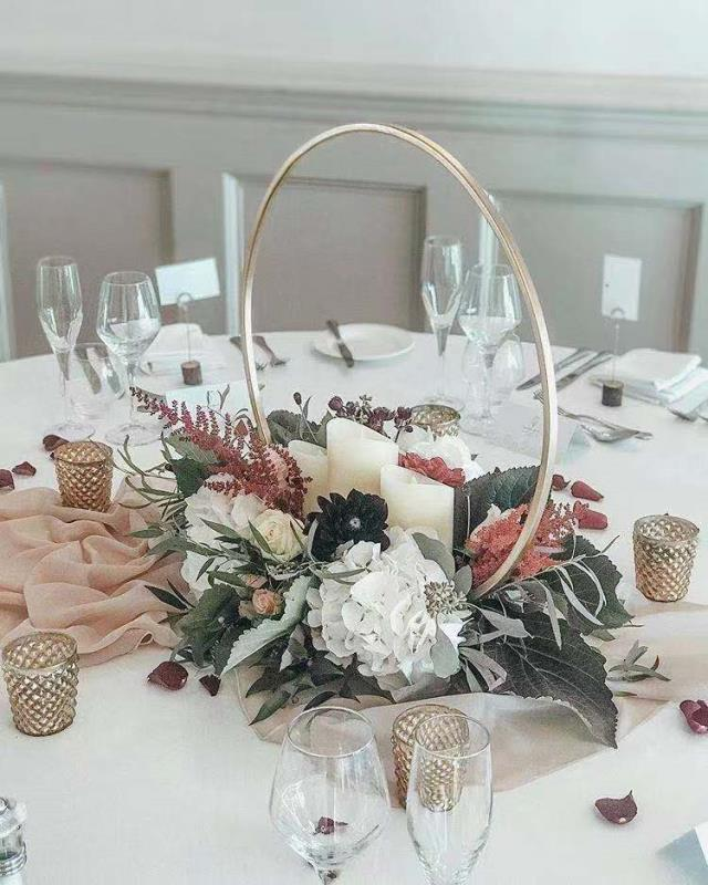10pcs/lot New Design Wedding Table Arch Centerpiece For Mariage Party Event Wedding Decoration