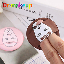 Cosmetic Makeup Tool Cartoon Emoticon Beauty Puff Hydrophilic BB Cream Powder Puff Pink Face Foundation Powder Puff Wholesale 1pcs jelly soft silicone gel powder puff sponge for cosmetic face foundation bb cream beauty makeup tool with smile face