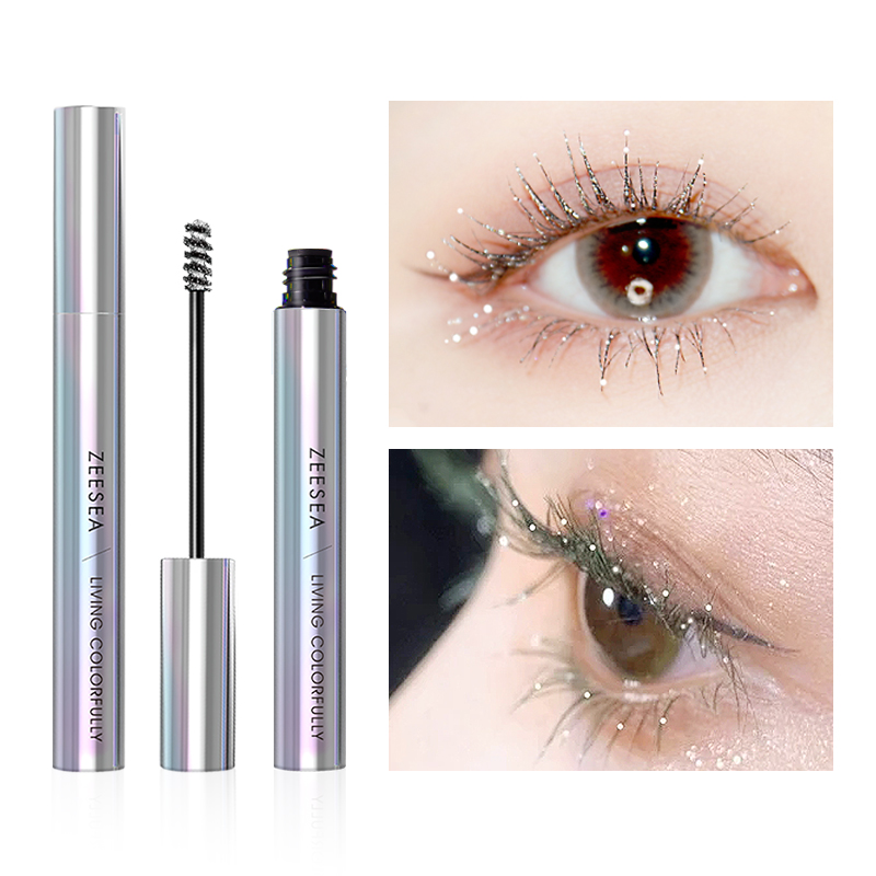 ZEESEA Mascara Eyelash-Extension Makeup Tear Fast-Dry Waterproof Curling Cosmetics Colourful