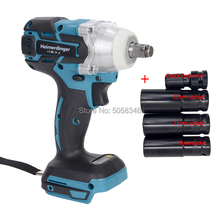 Impact-Wrench Adapter-Quick-Release-Driver Shank-Socket Electric Cordless-Body Rechargeable