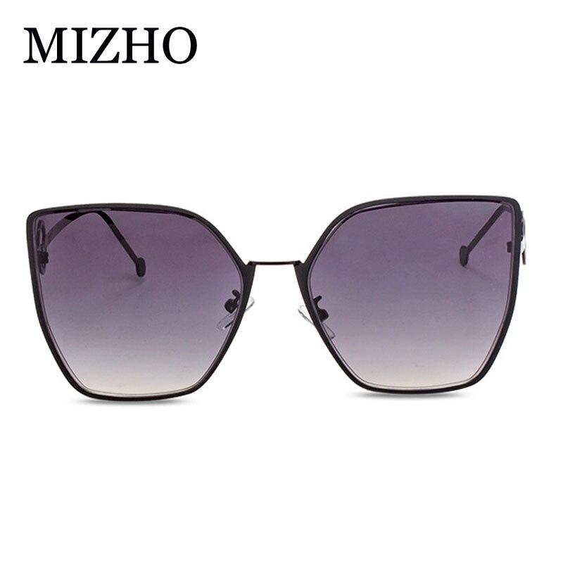 MIZHO New Style Online Celebrity Style Sunglasses Women Online Celebrity Cat-Eye Sunglasses Large Frame F Word Gradient Glasses