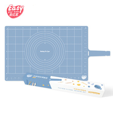 Non-Stick Large Thickening Platinum Silicone Baking Mat Rolling Dough Pad For Cake Cookie Cooking Tools Utensils Bakeware