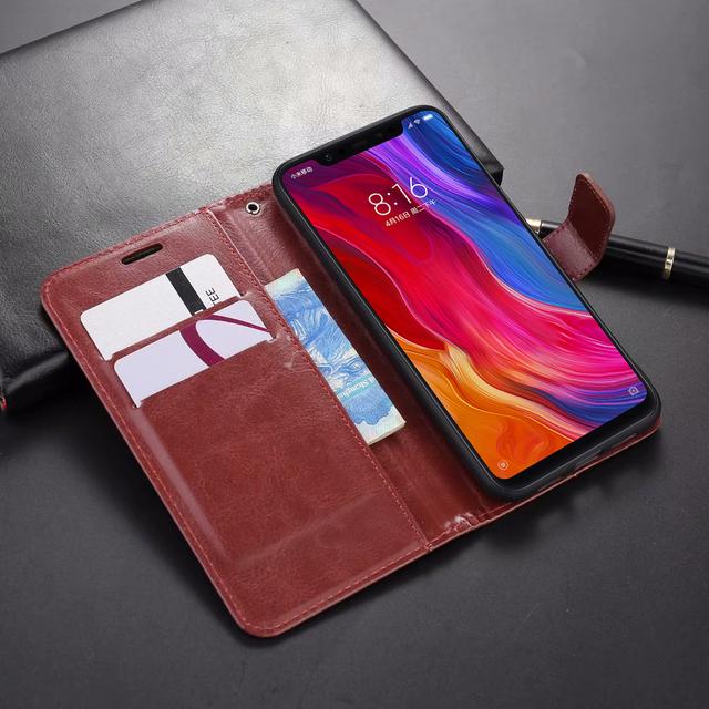 Funda de Cuero Suave para Xiaomi