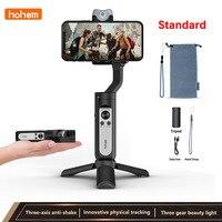 Hohem V2 cellulare PTZ live Smart Anti-shake Selfie Stick stabilizzazione artefatto per iphone Huawei Xiaomi Phone