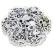 Mixed-Googly Doll-Parts Teddy Bear Eyes for Stuffed-Toy 700pcs Scrapbooking Total DIY