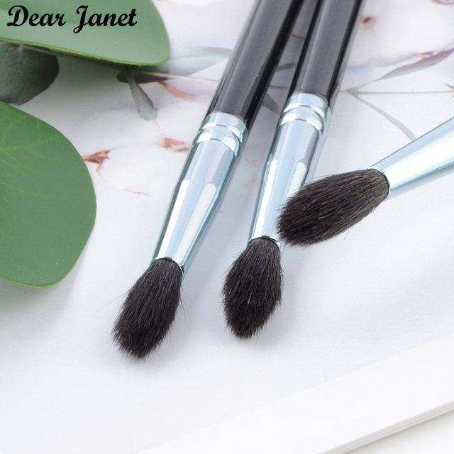 1 pc Highlighter Makeup brushes Eye blending Make up brush eyeshadow crease Cosmetic tool squirrel hair wood handle high quality 3