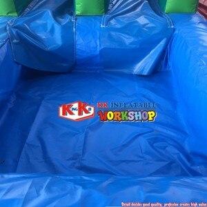Kommerziellen aufblasbare wasser rutsche mit pool für erwachsene/kinder wasserpark rutsche spielzeug