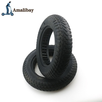 10 Inch Electric Scooter Tire For Xiaomi M365 10 X 2/10 X 2.5 Solid Tire Damping Tire Rubber Wheels Tyres for M365 M365 Pro suitable for xiaomi m365 electric scooter solid honeycomb explosion proof stab proof tire free inflatable rubber tire 8 5 2 0