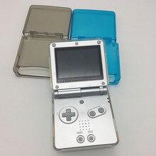 Silikon kılıf Yumuşak TPU Koruyucu Kabuk Için Nintendo GBA SP Konsolu Şeffaf Cilt Kabuk Kapak Nintendo Aksesuarları 4 Renkler