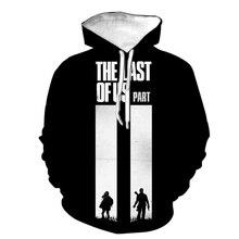 The Last Of Us 3D Print Hoodies Game Printing Cosplay Sweatshirt Men Women Fashion Streetwear Hoodie Hip Hop Pullover Male Hoody
