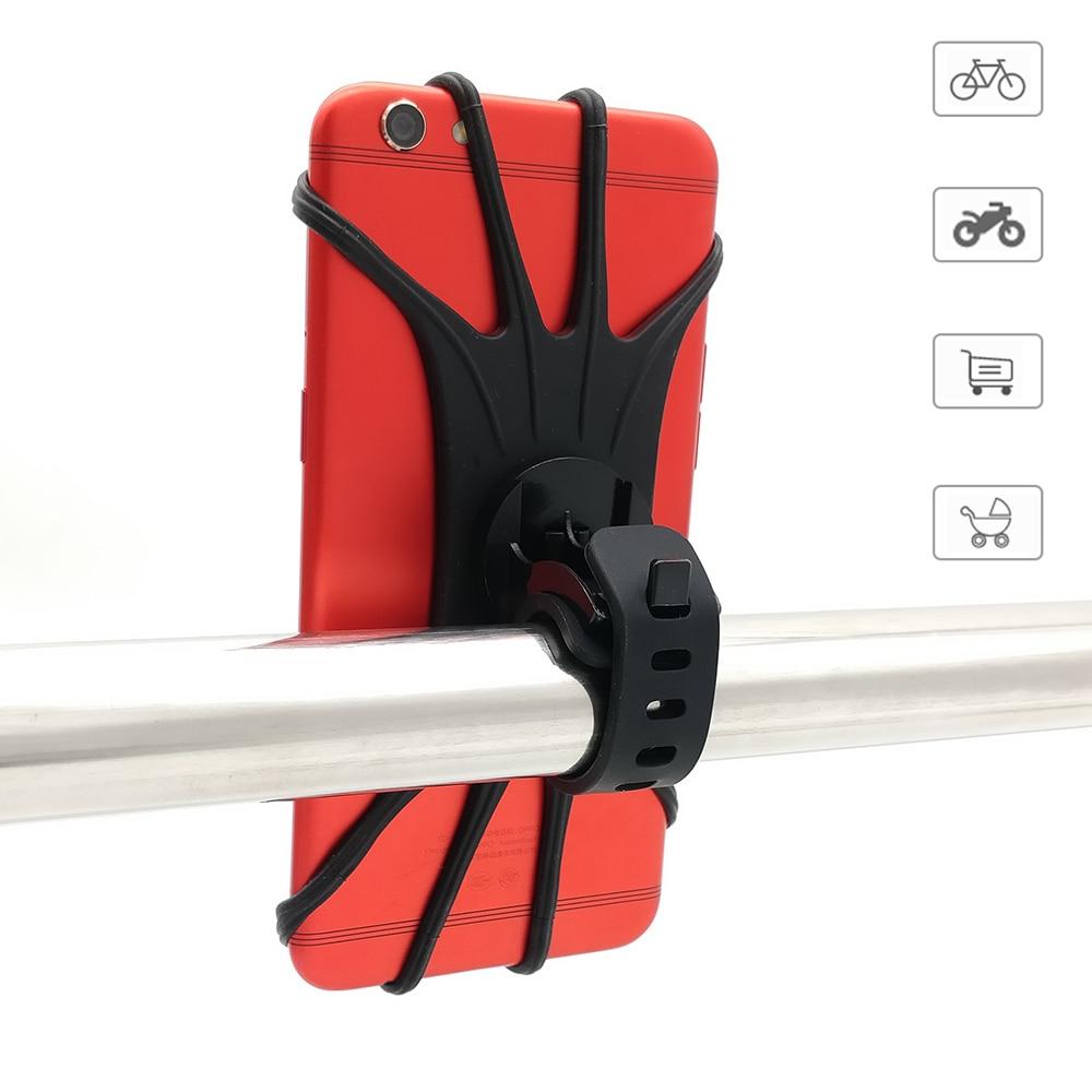 Универсальный держатель для телефона на детскую коляску, велосипед, мотоцикл, вращение на 360 градусов