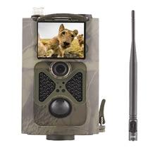 Caméra de chasse et de suivi des sentiers de chasse 2G MMS à Vision nocturne à infrarouge pour recherche sur la faune et surveillance de la ferme, Transmission en temps réel, HC 550M