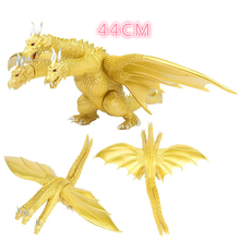 Toy Action-Figure King Ghidorah Godzilla Monster PVC Model 44CM Model-Collectible Gift
