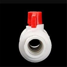 Полипропиленовый двойной live шаровой клапан 4 точек касания