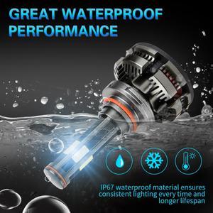 Image 4 - חדש הגעה H4 Led H7 canbus lampada רכב פנס נורות H11 LED HB3 9005 HB4 9006 מנורות 6500K 12V 16000LM אוטומטי Led ערפל אורות