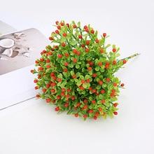 Вечерние Искусственные цветы В миланском стиле, свадебные фальшивые цветы, украшения для дома, праздничные Декоративные искусственные растения в горшках