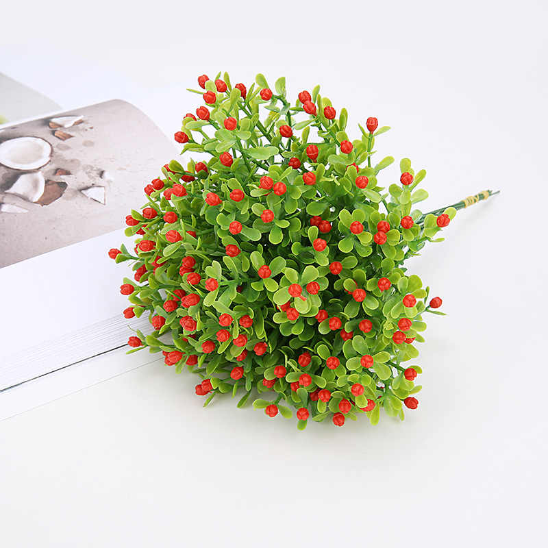 Party Decoration Milan Artificial Flower Wedding Fake Flowers Home Decorations Festival Potted Decorative Artificial PlantFlower